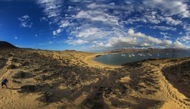 Isla La Graciosa en Lanzarote